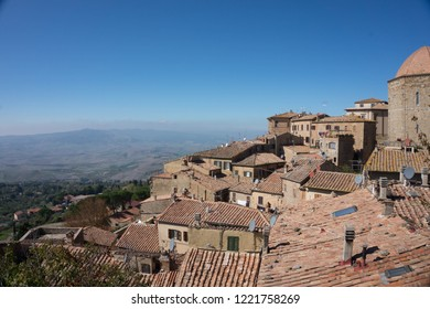 view of Volterra, Tuscany IT