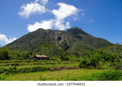 view to the vulcano of Hibok Hibok, on Camiguin island in south Philippines
