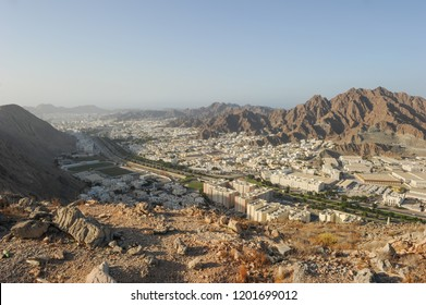 View of Wadi Kabir City, Muscat City, Oman
