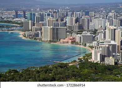 View of Waikiki from Diamond Head (Honolulu, Hawaii)