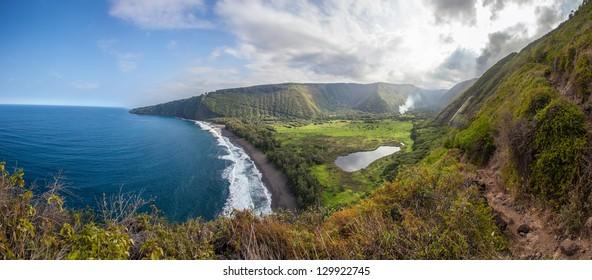 View of Waipio Valley, Big Island, Hawaii