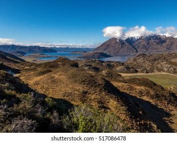 View of Wanaka area New Zealand