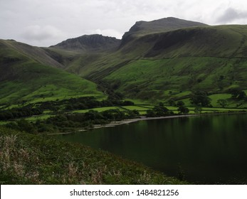 View of Wasdale Head, Seascale, Lake District National Park in Cumbria
