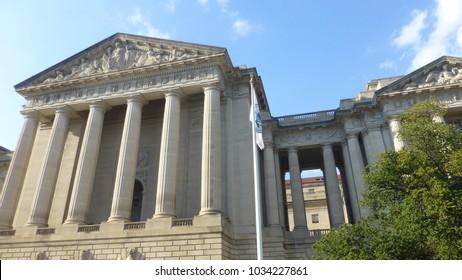 View in Washington DC, USA.