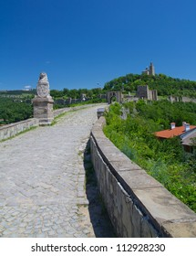 A view from the way on castle in Bulgaria