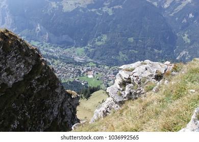 view of Wengen, Switzerland