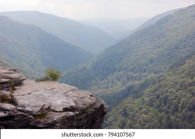 View of West Virginia mounts