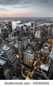 View from Westfield Tower in Sydney