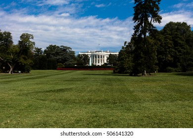View of the White House, the residency of president of USA