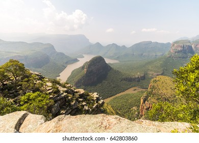 View of the whole Blyde River Canyon landscape, South Africa