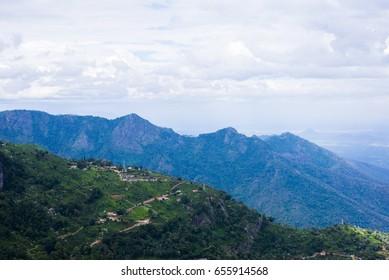 View of Winding Roads from Lamb's Rock in Coonoor, Tamil Nadu