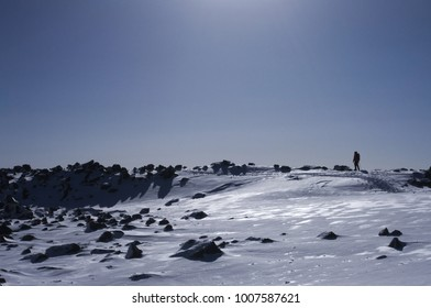 View of winter mountain,Mt.Tateshina