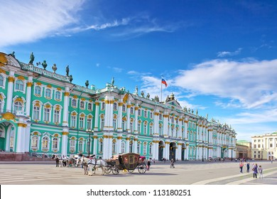 View Winter Palace  in  Saint Petersburg
