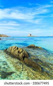 A view of a wonderful beach in Stintino, Sardinia