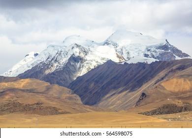 View from The world's highest railway line.Tibet-shinghai