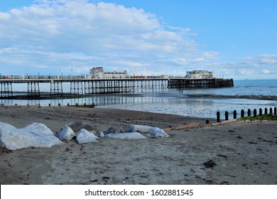View of Worthing Pier in England