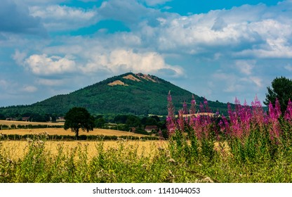 A view of the Wrekin Hill, Shropshire