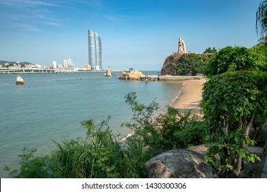View of Xiamen from Gulangyu island