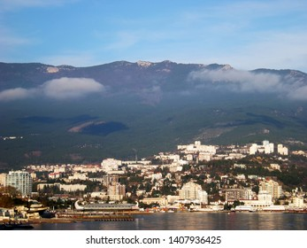 View of Yalta from the east. Crimea