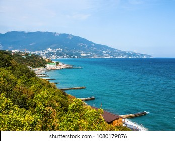 View of Yalta from the village of Livadia in the Crimea
