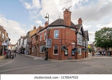 View of York street - Yorkshire, England, United Kingdom. Photo taken on August 3 2018