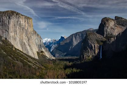 View of Yosemite National park, California