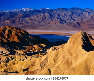 View from Zabriskie Point, Death Valley National Park, California.