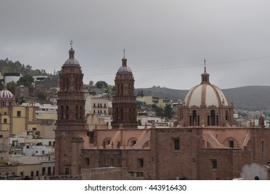 View of the Zacatecas cathedral