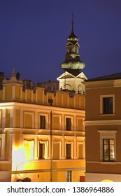 View of Zamosc town. Poland