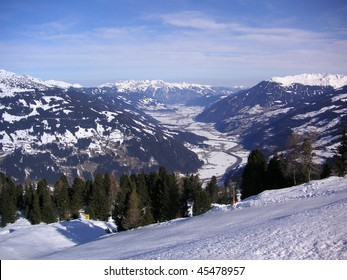 View to the ziller valley