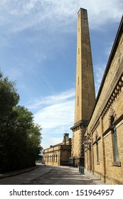 Viewe of Mill and Chimney Saltaire Yorkshire