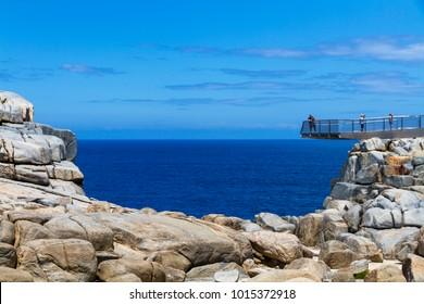 Viewing platform, The Gap, Torndirrup National Park, Albany, Western Australia