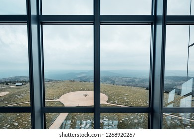 Viewing Platform mountain Brocken