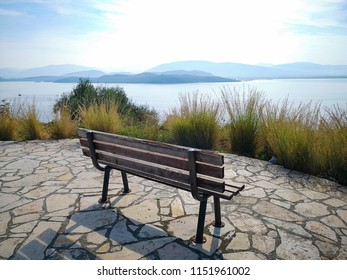 viewpoint with bench