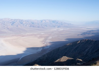 Viewpoint Dante's View in the morning, Death Valley, California, USA