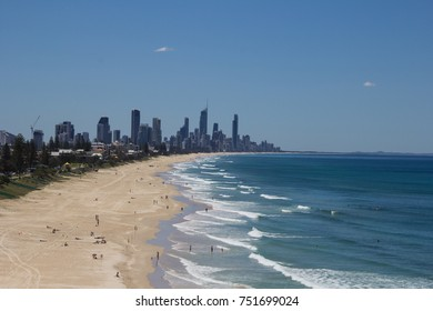 a viewpoint of Gold Coast, Australia