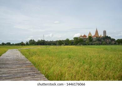 Viewpoint Kanchanaburi The Tiger Cave Temple Near Bangkok Thailand