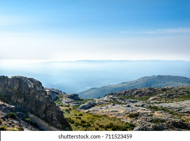 Viewpoint, landscape, Serra da Estrela, Portugal