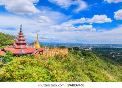 Viewpoint at Mandalay Hill is a major pilgrimage site. A panoramic view of Mandalay from the top of Mandalay Hill alone makes it worthwhile to attempt a climb up