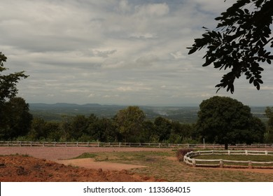 Viewpoint on the top of Mor Hin Khao  Phu Laenkha  National Park at Chaiyaphum in Thailand