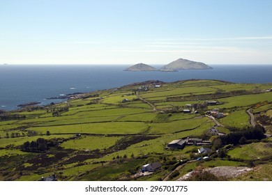 Viewpoint over Ballinskelligs Bay at Derrynane, County Kerry, Ireland