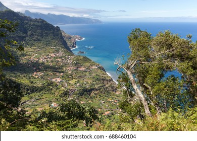 Viewpoint over the north coast of Madeira, Portugal