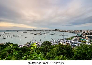 Viewpoint Pattaya , port