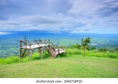 Punto de vista del Parque Nacional de phulankha, Chaiyaphum, Tailandia