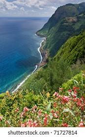 Viewpoint Ponta da Madrugada in Sao Miguel Azores island