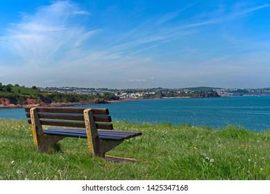 Views across Torquay from Paignton Devon