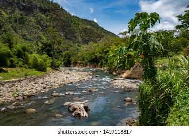 Views around the caribbean island of Dominica West indies