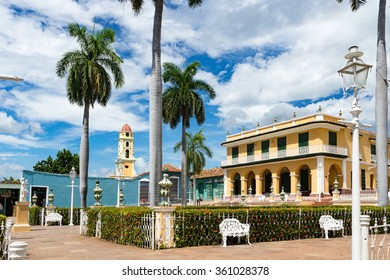 Views around the historic town of Trinidad on the Caribbean Island of Cuba