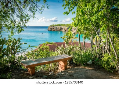 views around Knip Landhouse and beach on the Caribbean islland of Curacao