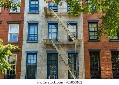 Views around Manhattan New York in the USA